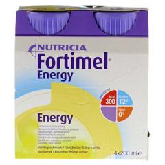 FORTIMEL Energy Vanillegeschmack 8x4x200 Milliliter - Vorderseite