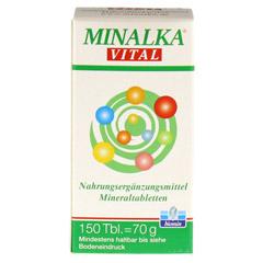 MINALKA Tabletten 150 Stück - Vorderseite