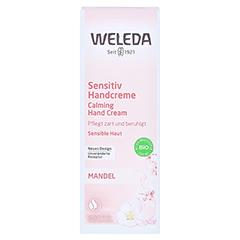 WELEDA Mandel Sensitiv Handcreme 50 Milliliter - Vorderseite