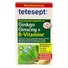 TETESEPT Ginkgo Ginseng+B-Vitamine Tabletten 30 Stück - Vorderseite