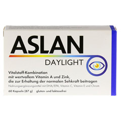 ASLAN Daylight Kapseln 60 Stück - Vorderseite