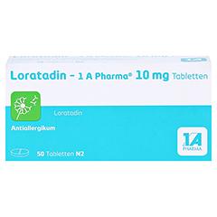 Loratadin-1A Pharma 50 Stück N2 - Vorderseite