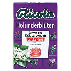 Ricola o.Z. Box Holunderblüten Bonbons 50 Gramm - Vorderseite