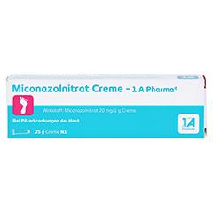 Miconazolnitrat Creme-1A Pharma 25 Gramm N1 - Vorderseite