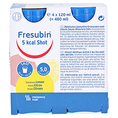 FRESUBIN 5 kcal SHOT Lemon Lösung 4x120 Milliliter - Vorderseite