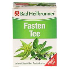 BAD HEILBRUNNER Tee Fasten Filterbeutel 8 Stück - Vorderseite
