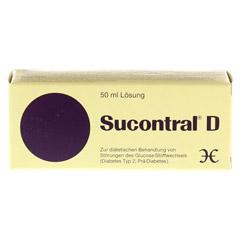 Sucontral D Diabetiker Lösung 50 Milliliter - Vorderseite