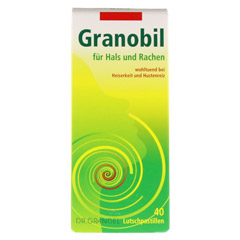 GRANOBIL Grandel Pastillen 40 Stück - Vorderseite