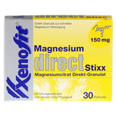 XENOFIT Magnesium direct Stixx Granulat 30x1.66 Gramm - Vorderseite