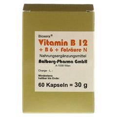 Vitamin B12 + B6 + Folsäure Komplex N Kapseln 60 Stück - Vorderseite