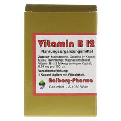 VITAMIN B12 KAPSELN 60 Stück - Vorderseite