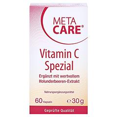 META CARE Vitamin C spezial Kapseln 60 Stück - Vorderseite