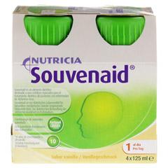 SOUVENAID Vanillegeschmack 4x125 Milliliter - Vorderseite