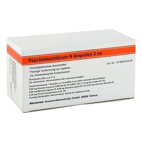 PSYCHONEUROTICUM N Ampullen 50x2 Milliliter N2
