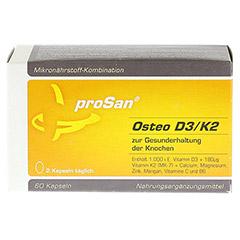 PROSAN Osteo D3-K2 Weichkapseln 60 Stück - Vorderseite