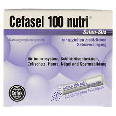 CEFASEL 100 nutri Selen Stix Pellets 20 Stück - Vorderseite