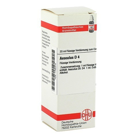 AESCULUS D 4 Dilution 20 Milliliter N1