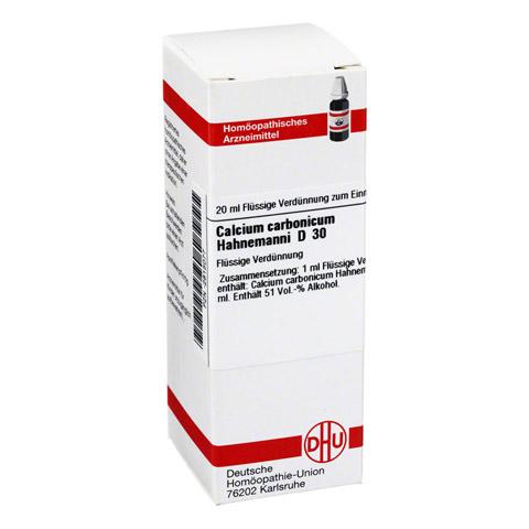 CALCIUM CARBONICUM Hahnemanni D 30 Dilution 20 Milliliter N1