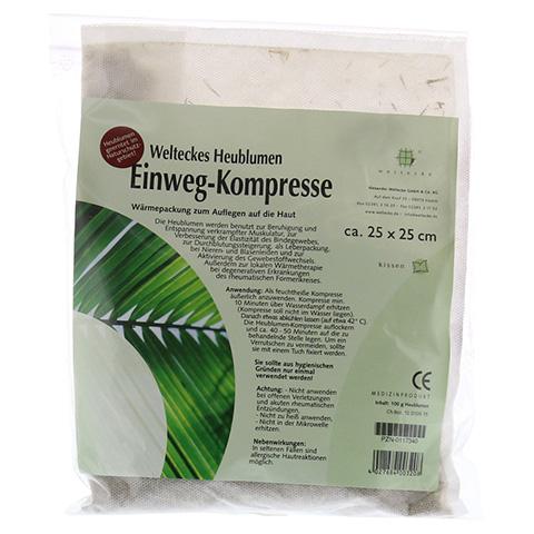 HEUBLUMEN EINWEG-KOMPRESSE 25x25 cm 1 St�ck
