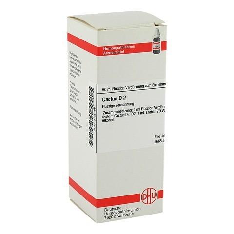 CACTUS D 2 Dilution 50 Milliliter N1