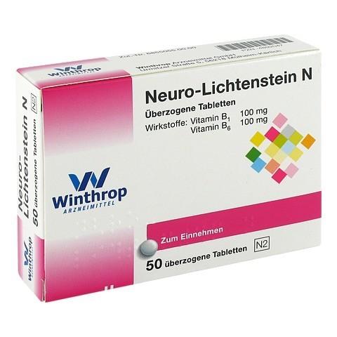 NEURO LICHTENSTEIN N Dragees 50 Stück N2