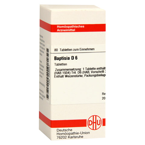 BAPTISIA D 6 Tabletten 80 St�ck N1