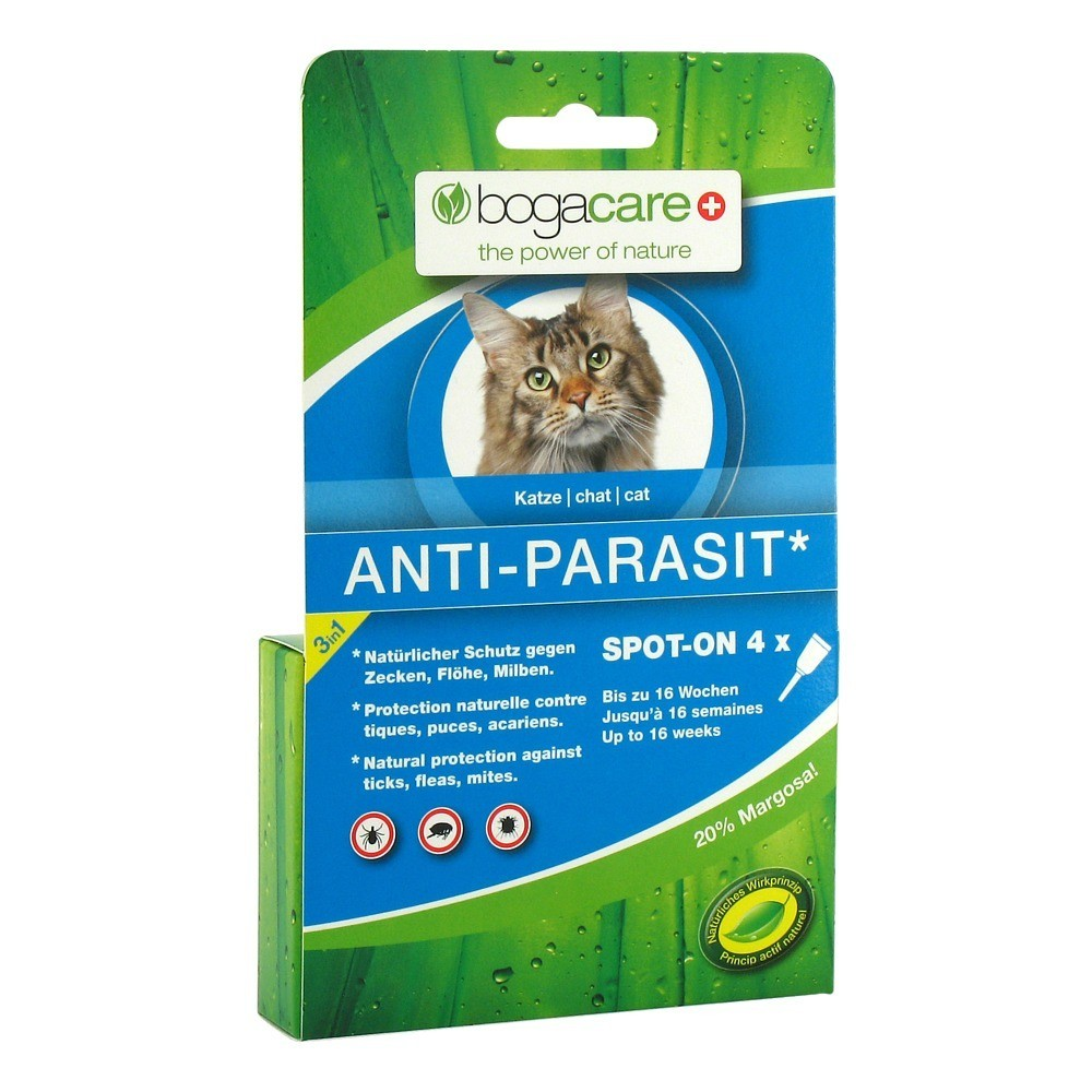 bogacare anti parasit spot on katze milliliter online bestellen medpex versandapotheke. Black Bedroom Furniture Sets. Home Design Ideas