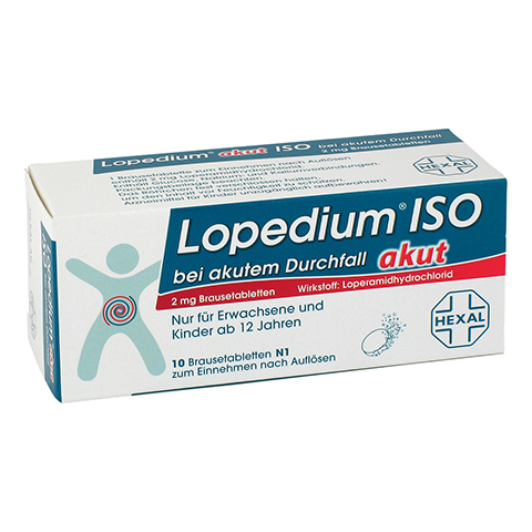 Lopedium akut ISO bei akutem Durchfall 10 St�ck N1