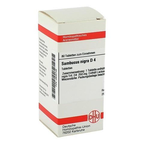 SAMBUCUS NIGRA D 4 Tabletten 80 St�ck N1