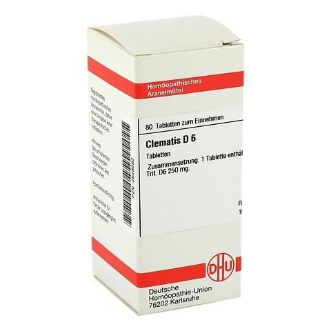 CLEMATIS D 6 Tabletten 80 St�ck N1
