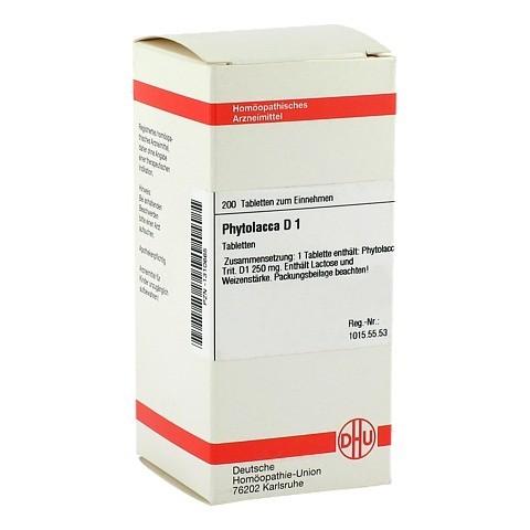 PHYTOLACCA D 1 Tabletten 200 Stück N2