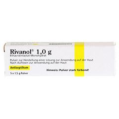 Rivanol 1,0g 5 Stück N1 - Vorderseite