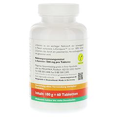 L-CARNIPURE 1000 mg Kautabletten 60 Stück - Rechte Seite