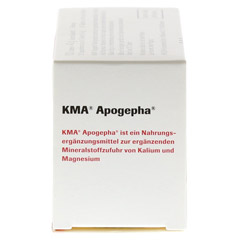 KMA Apogepha Tabletten 100 Stück - Linke Seite