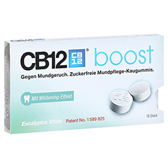 CB12 boost Eukalyptus Kaugummi 10 Stück