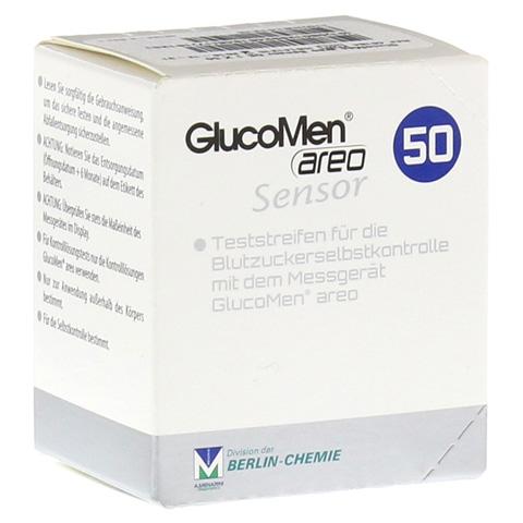 GLUCOMEN areo Sensor Teststreifen 50 St�ck
