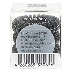 INVISIBOBBLE Haargummi true black 3 Stück - Rückseite