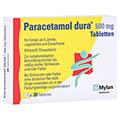 Paracetamol dura 500mg 20 St�ck N2