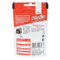 RHEILA Veilchen Pastillen mit Zucker 35 Gramm - Rückseite