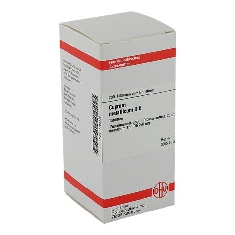 CUPRUM METALLICUM D 6 Tabletten 200 Stück N2