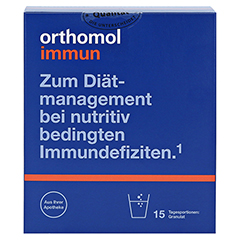 ORTHOMOL Immun Granulat Beutel 15 Stück - Vorderseite