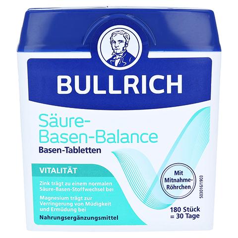 BULLRICH Säure Basen Balance Tabletten 180 Stück