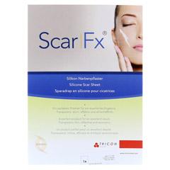 SCAR FX Silikon Narben Pflast.3,75x22,5cm 1 St�ck - Vorderseite