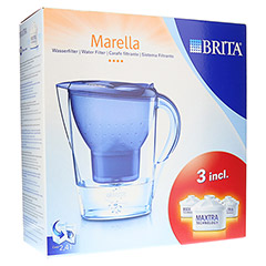 BRITA Starterpaket Marella Cool blau+3-Maxtra Kar. 1 St�ck