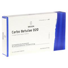 CARBO BETULAE D 20 Ampullen 8x1 Milliliter N1