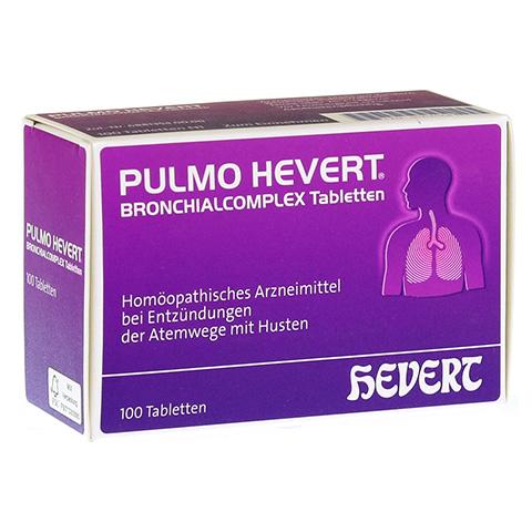 PULMO HEVERT Bronchialcomplex Tabletten 100 Stück N1