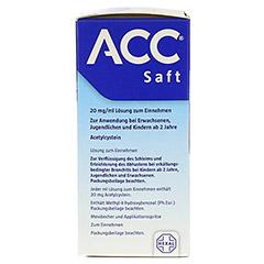 ACC Saft 20mg/ml 200 Milliliter N3 - Rechte Seite