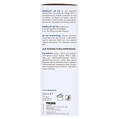 SAGELLA pH 3,5 Waschemulsion 250 Milliliter - Rechte Seite