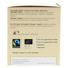 SIDROGA organic großes Glück Filterbeutel 12 Stück - Linke Seite