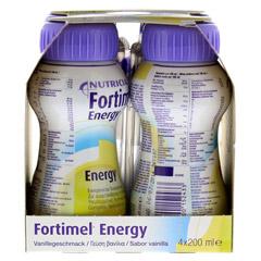 FORTIMEL Energy Vanillegeschmack 8x4x200 Milliliter - Linke Seite